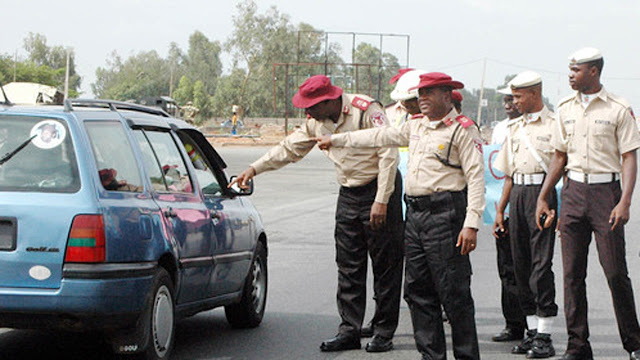 frsc - FRSC officials shot by Policemen Attach to Abia Speaker's wife's  for stopping her car
