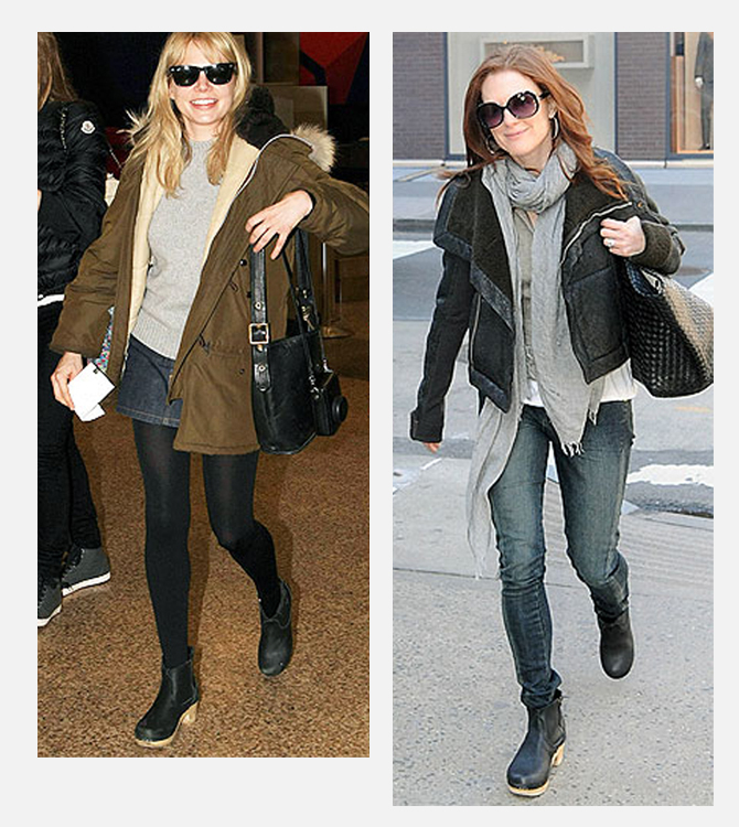 b16132edd58 C D favorite Michelle Williams   the beautiful Julianne Moore looking cute  and classic in their pairs!
