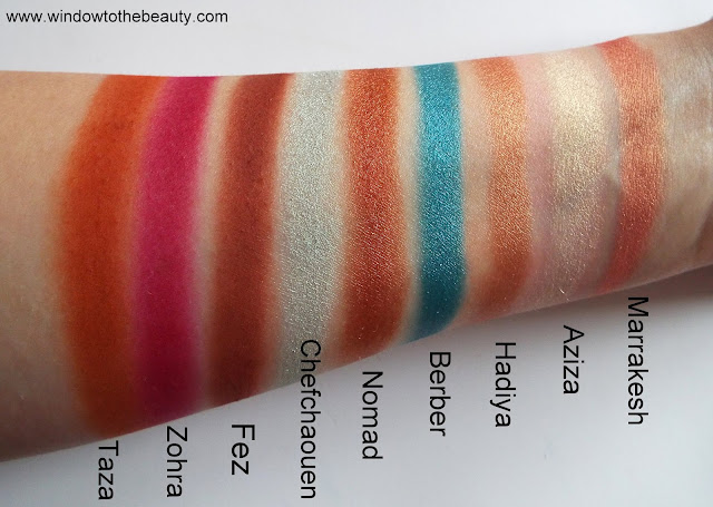 Juvia's Place The Saharan2 swatches