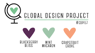 Global Design Project Colour Challenge #GDP157 from Mitosu Crafts UK