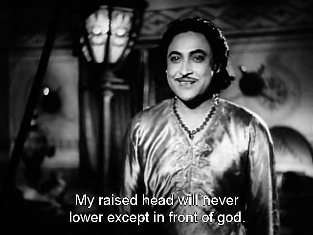 Screen Shot Of Hindi Movie Humayun (1945) Download And Watch Online Free at worldfree4u.com