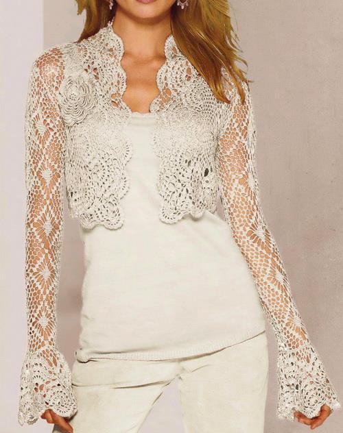 Crochet Bolero Jacket Patterns Free