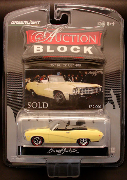 Diecast Hobbist Greenlight Auction Block Series 7