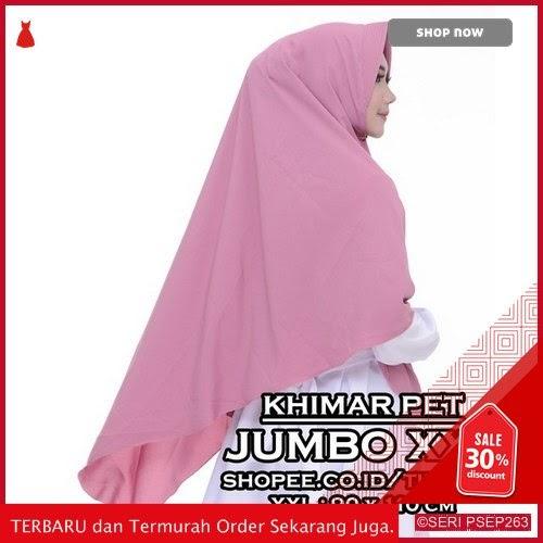 ACK681 Jilbab Khimar Syari Antem Penguin wolfis premium | BMGShop