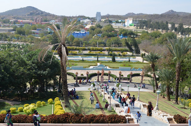 Panoramic View of Ramoji Film City, Hyderabad