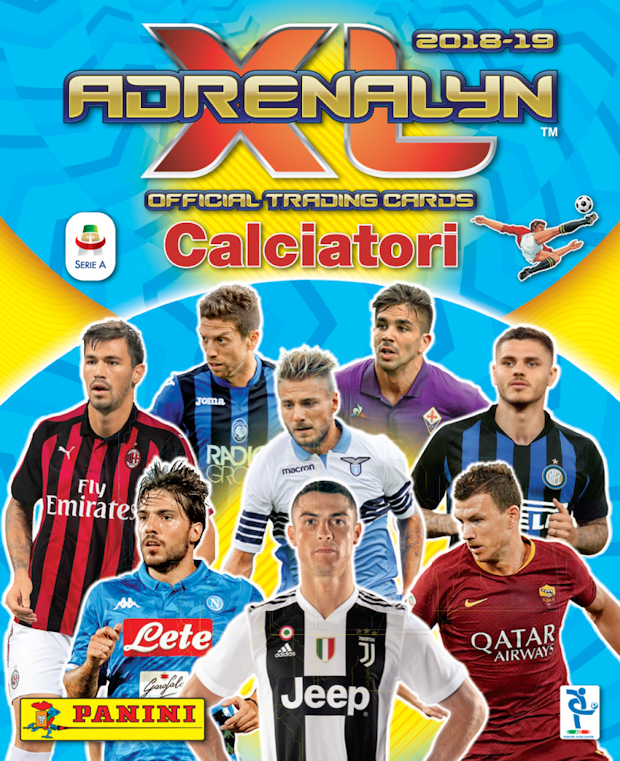 "CARD ADRENALYN-EDIN DZEKO-TOP PLAYER/"" PANINI 2018-19 n°467!"