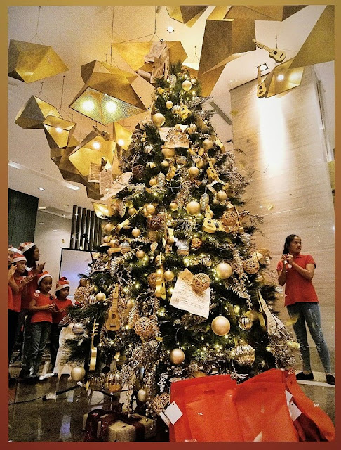 Christmas Tree by Summit Galleria Cebu Hotel