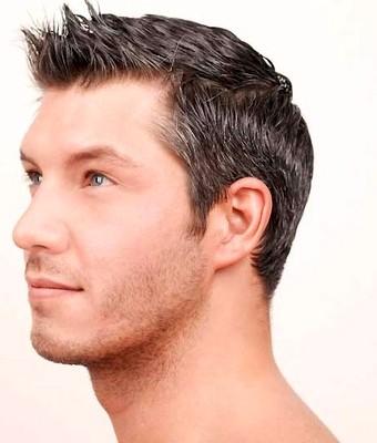 Gaya rambut segi  pendek spike