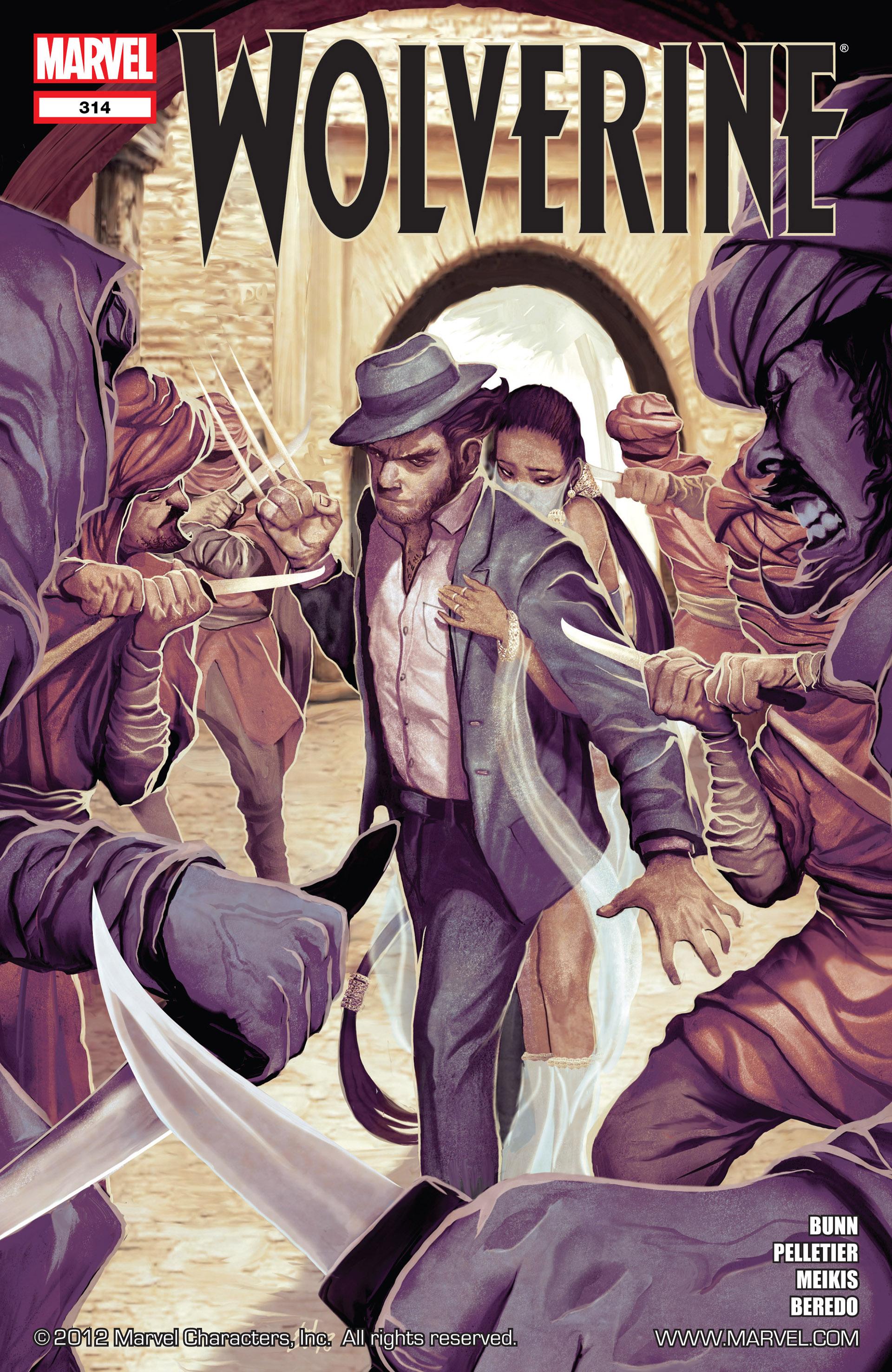 Wolverine (2010) 314 Page 1