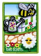 Daisy Flower Garden Badge Set