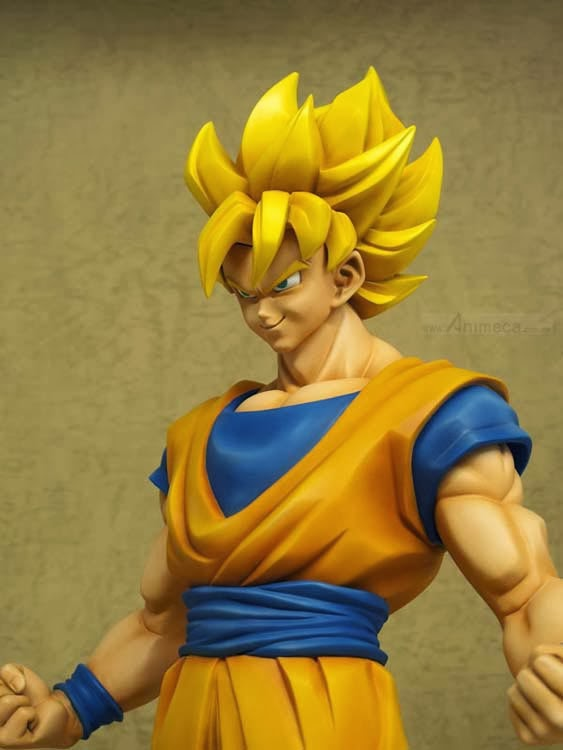 SON GOKU SUPER SAIYAJIN FIGURE Gigantic Series DRAGON BALL Z X PLUS