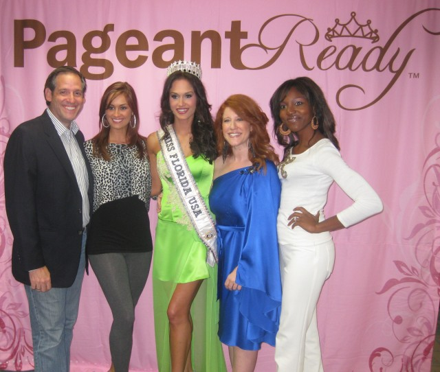 Photos of the send-off party for Miss Florida USA 2011 Lissette Garcia - . She will represent Florida in Miss USA 2011