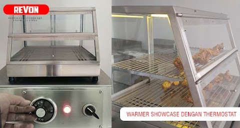 Jual Showcase Warmer Murah dengan Thermostat