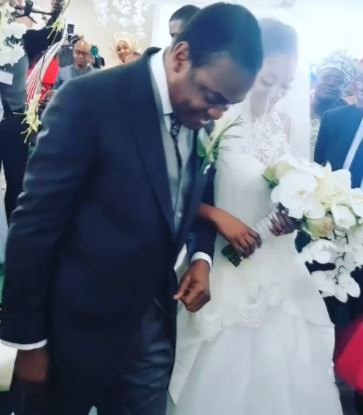 Photos Fro! Church Wedding Of Donald Duke's Daughter