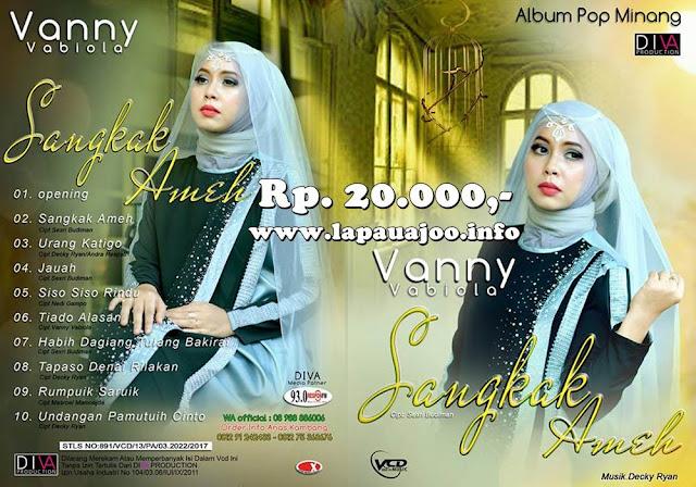 VCD Vanny Vabiola - Sangkak Ameh (Album Pop Minang)