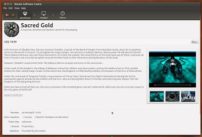 Linux Game Publishing Adds 'Sacred Gold' RPG to Ubuntu Software Center