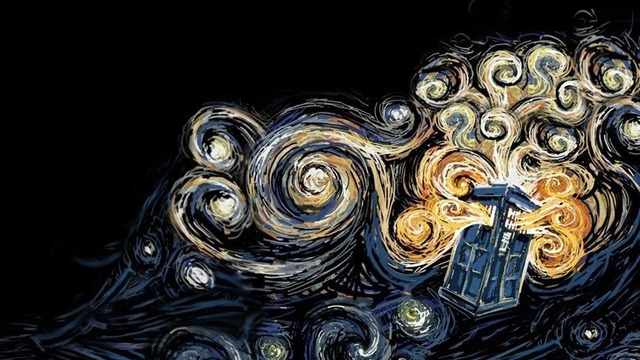 Doctor Who Tag_ Van Gogh explosion