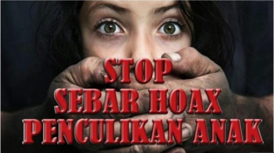 Buntut dari Maraknya Kabar Penculikan Anak, Polisi Tindak Tegas Pelaku Penyebar HOAX