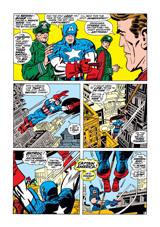 Read online Captain America (1968) comic -  Issue #105 - 9