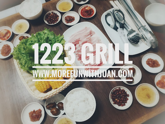 1223 Grill - Your Affordable Samgyeopsal Haven in Pasig