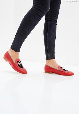 Zapatos de mujer de vestir rojos