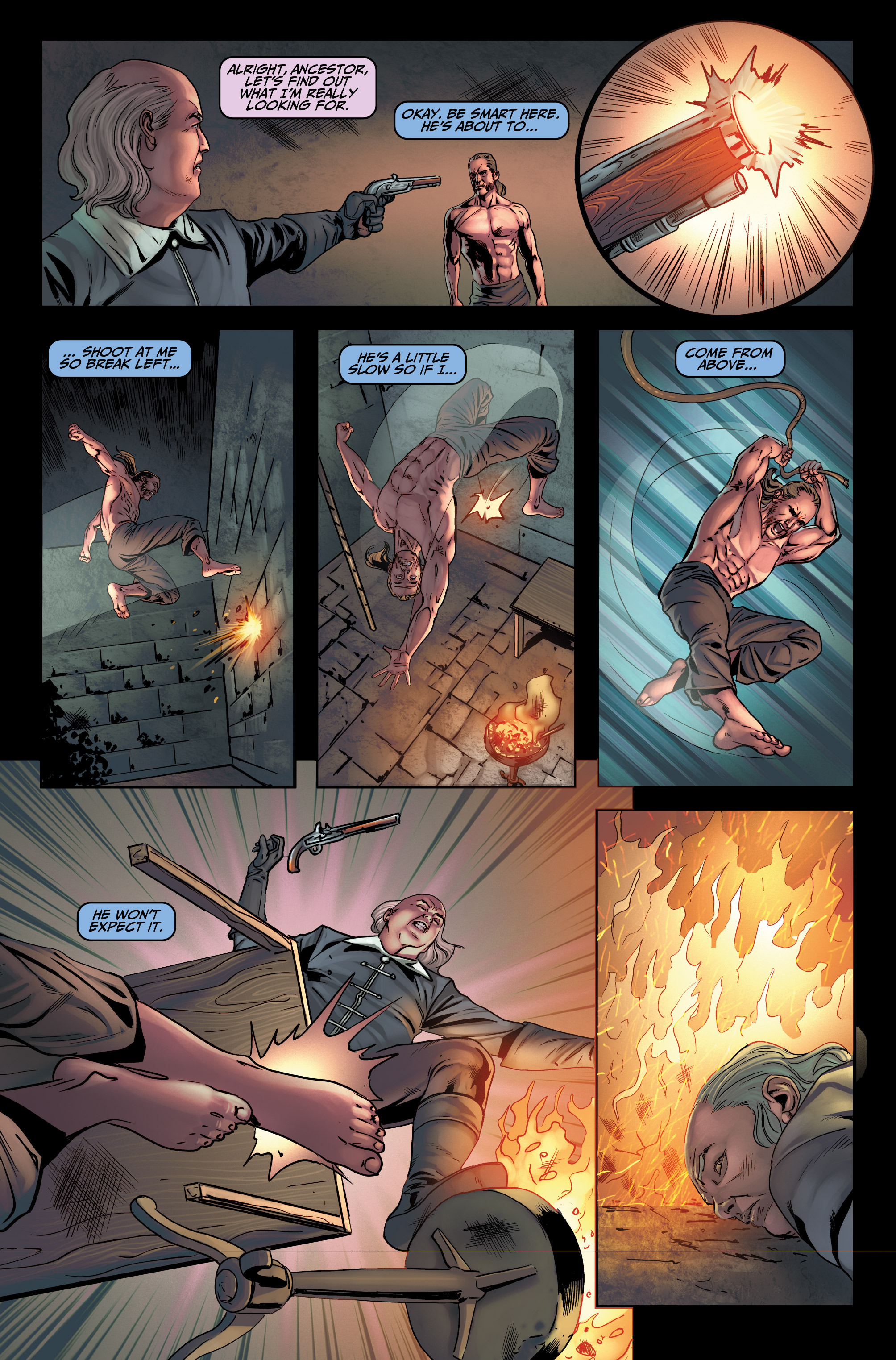 Read online Assassin's Creed (2015) comic -  Issue #4 - 14