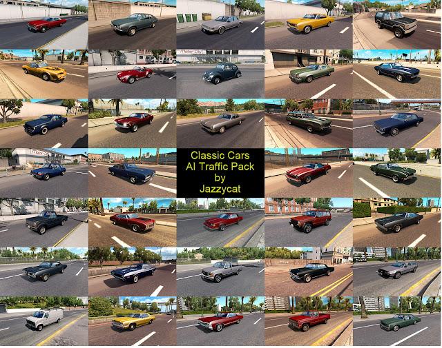 ats classic cars ai traffic pack v2.6 screenshots 2