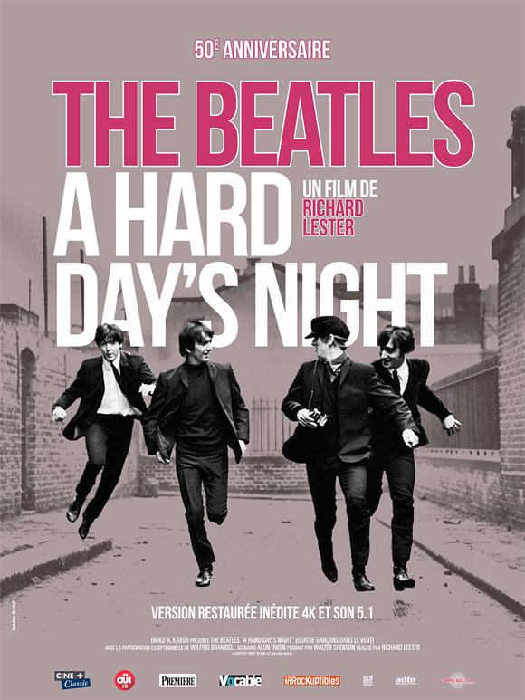«A Hard Day's Night» : le premier film des Beatles en version restaurée