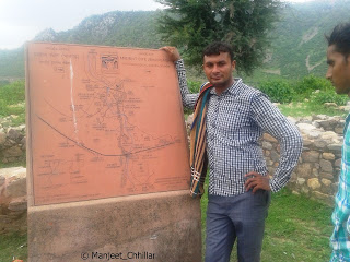 Bhangarh Fort Map