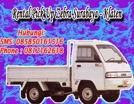 Rental Pick Up Zebra Surabaya - Klaten