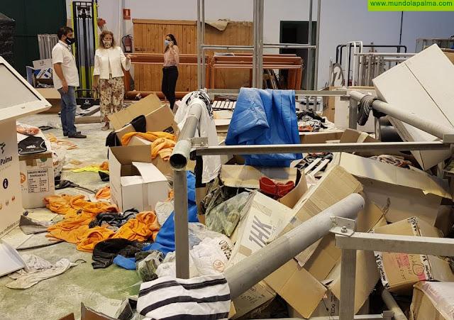 El almacén de Sodepal sufre un acto vandálico