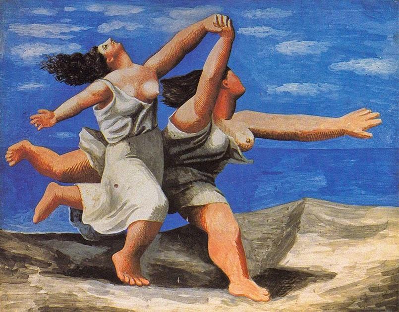 Picasso - Dos mujeres corriendo en la playa - La carrera - 1922