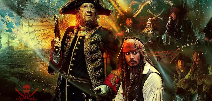 Barbossa şi Jack Sparrow vor reveni în Piraţii Din Caraibe 5