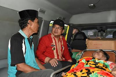 Dinas Sosial Lampung Timur Fasilitasi Pemulangan Mulyadi dan Istri ke Jawa Timur