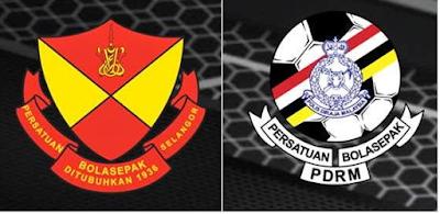 Selangor vs pdrm live
