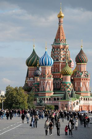 Katedral Saint Basil, Moskow