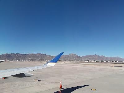 Arrivée à El Paso