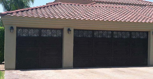 Mesa garage door designs