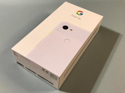 pixel3a箱写真