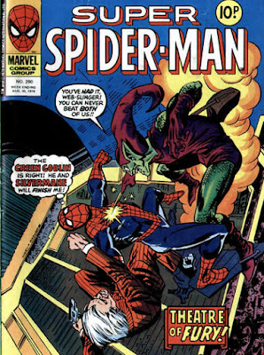 Super Spider-Man #290, the Green Goblin and Silvermane