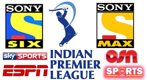 Where to Watch Live Streaming IPL 2018 Broadcasting Tv Channels List Today