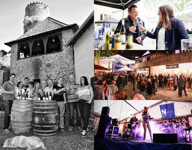 Weinhöfefest rund um die Burg Layen