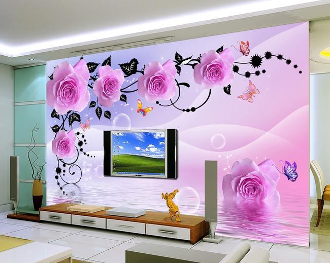 Top 50 3D wallpaper for living room and bedroom walls 2019