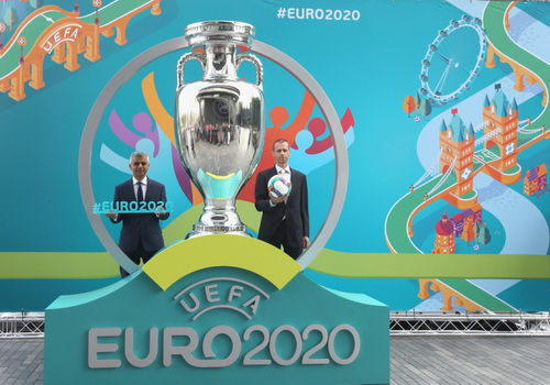 www.Tinuku.com UEFA launched logo Euro 2020 to bridge visual identity of all host cities