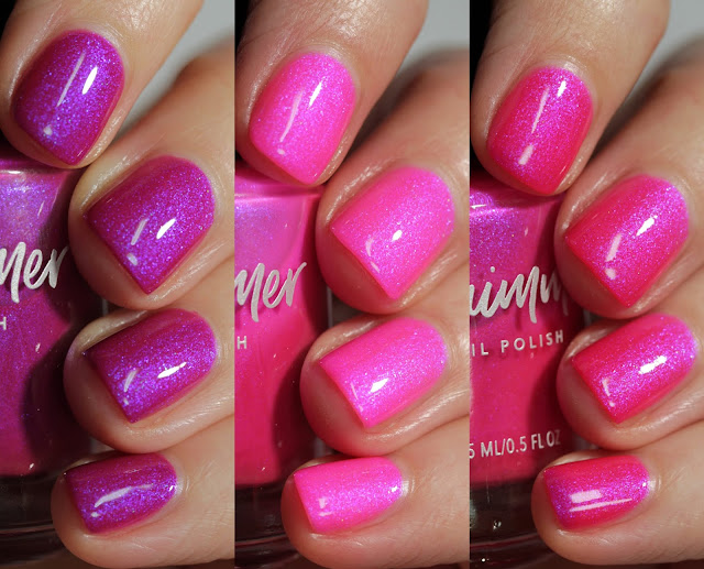 KBShimmer Slay La Vie swatch by Streets Ahead Style