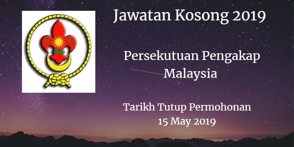 Jawatan Kosong Persekutuan Pengakap Malaysia 15 May 2019