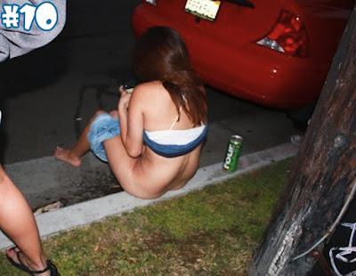 Mulheres muito bêbadas