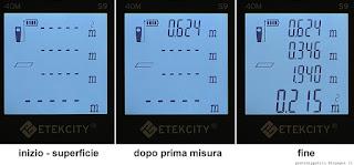 Etekcity Laser Distance Meter S9, superficie