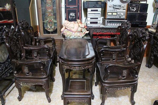 Cần mua bàn ghế gỗ trắc tại Hà Nội