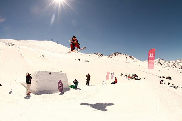 Pistas e atrações na estação de esqui El Colorado
